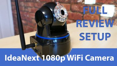 full hd indoor security camera and baby monitor